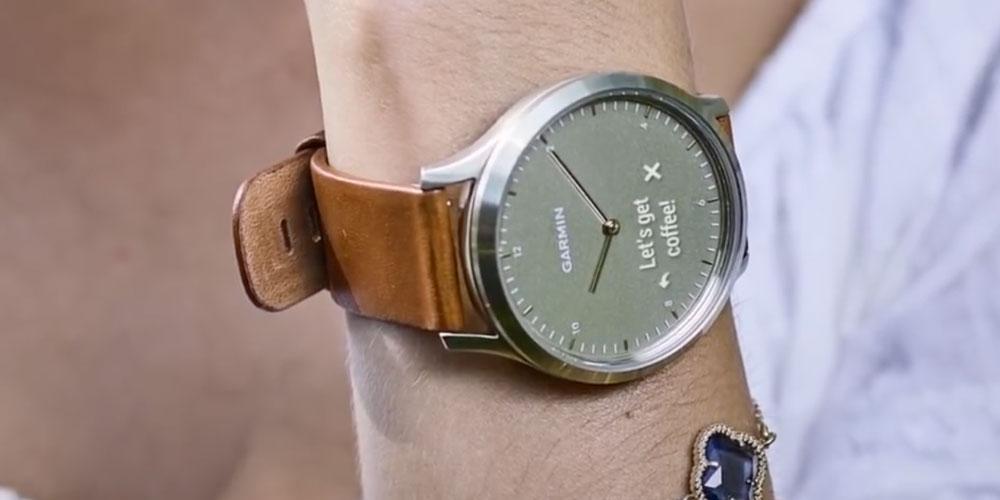 slim horloge garmin