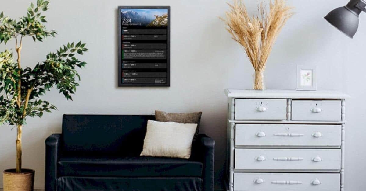 dakboard digital wall calender