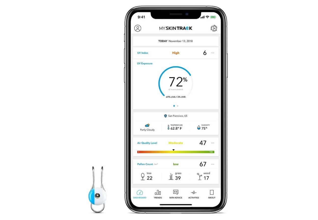 uv wearable sensor