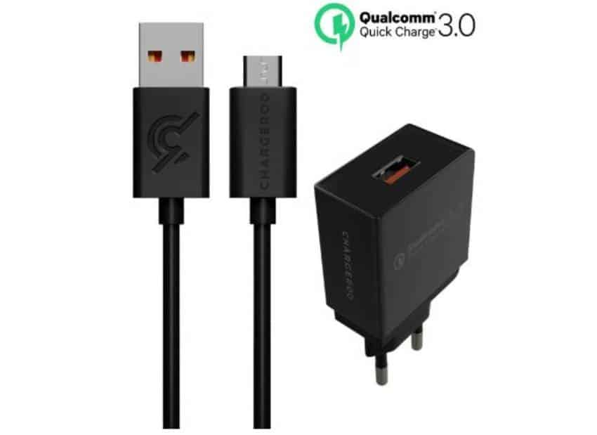 Chargeroo Qualcomm Quick Charge 3.0 USB chargers