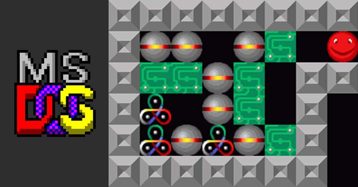 MS DOS games computer spellen vroeger