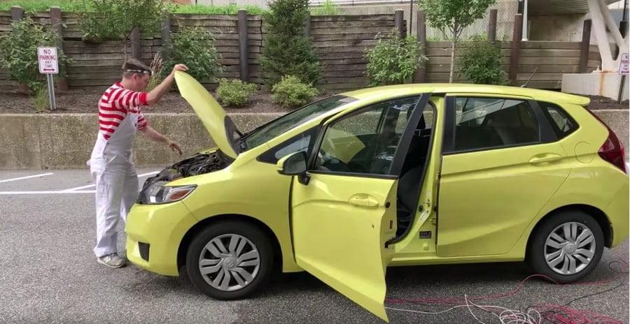 Ruitenwisser auto bewegen muziek