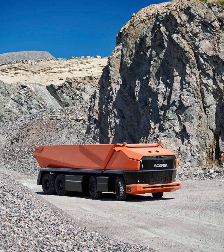 Scania AXL autonome vrachtwagen truck 4