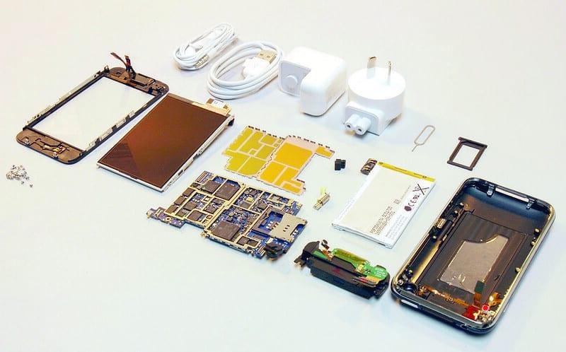 iPhone onderdelen kosten