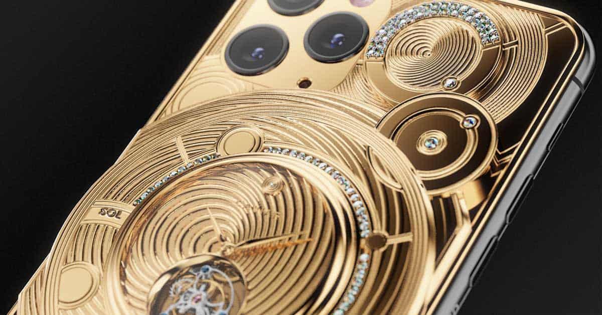 Caviar Royal gift Solarius Zenith iphone