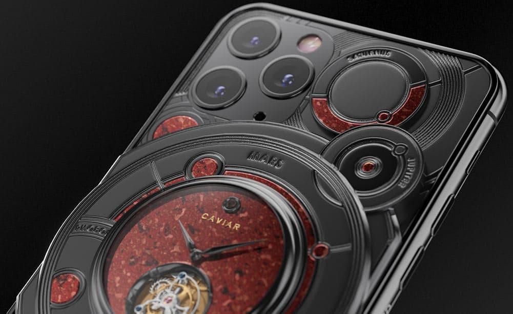 Caviar Royal gift dicovery mars iphone