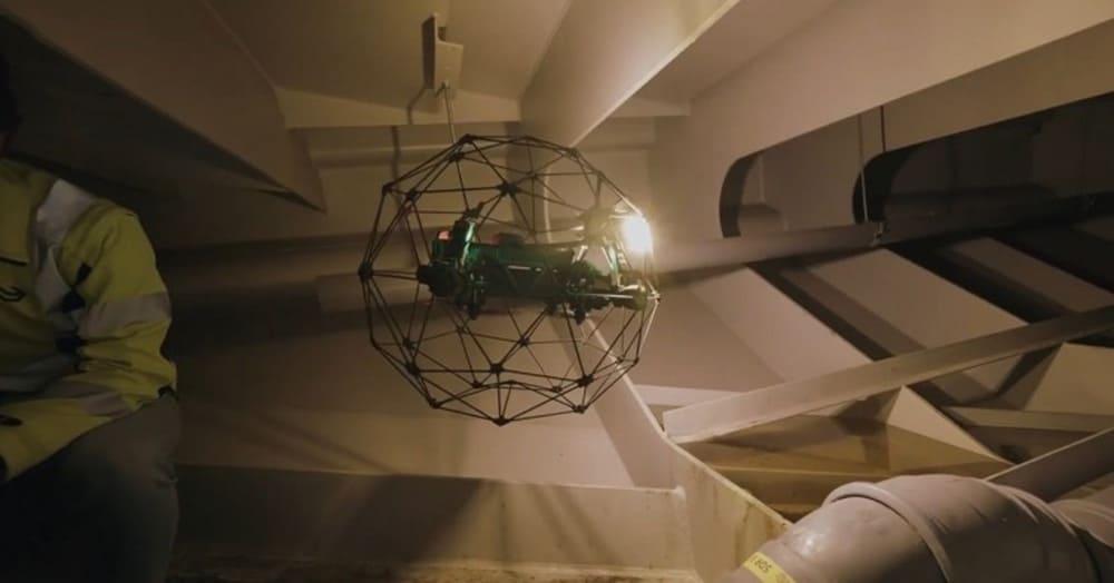 Drone Nederlandse Spoorwegen NS 2