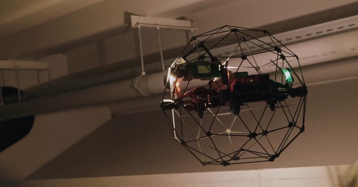 Drone Nederlandse Spoorwegen NS drones