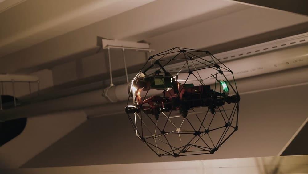 Drone Nederlandse Spoorwegen NS