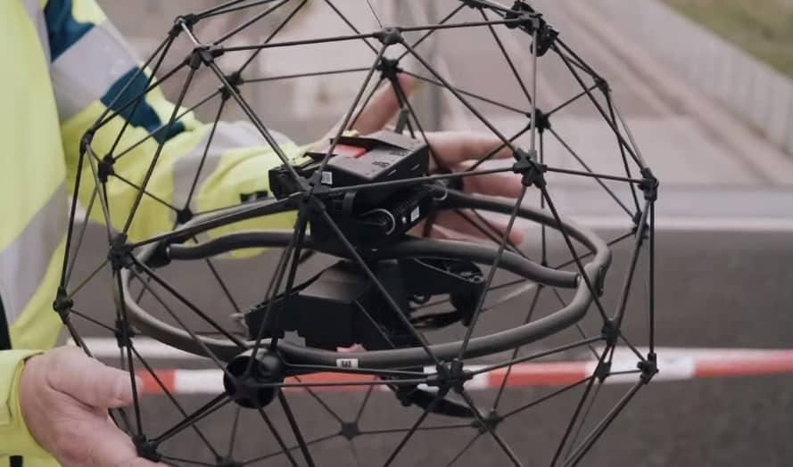 Drones Nederlandse Spoorwegen NS drone