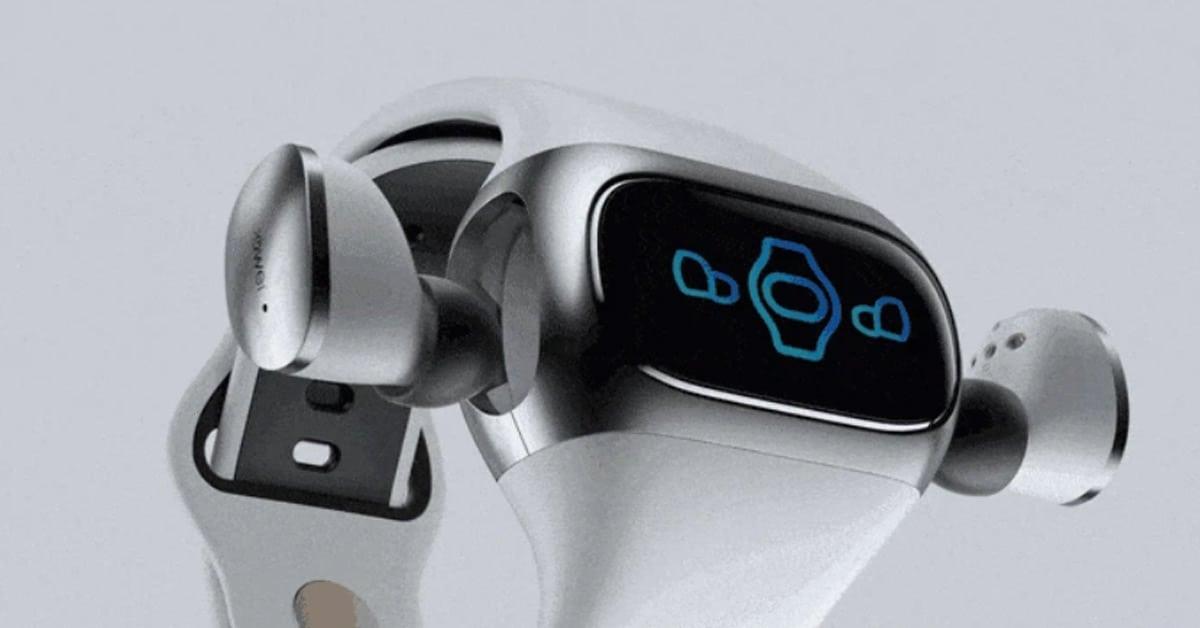 Wearbuds smartwatch oordopjes opladen