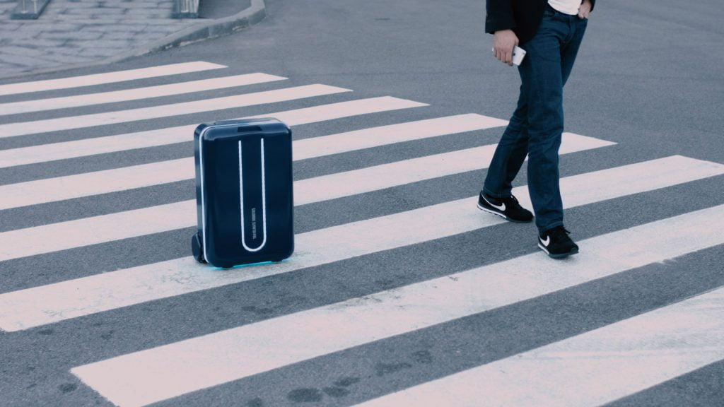 Travelmate smart slimme handbagage koffer