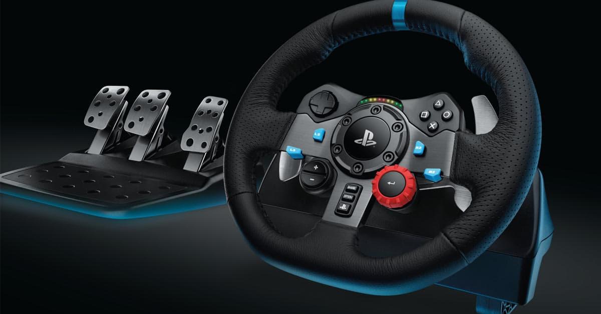 Logitech G29 stuur race spel feat