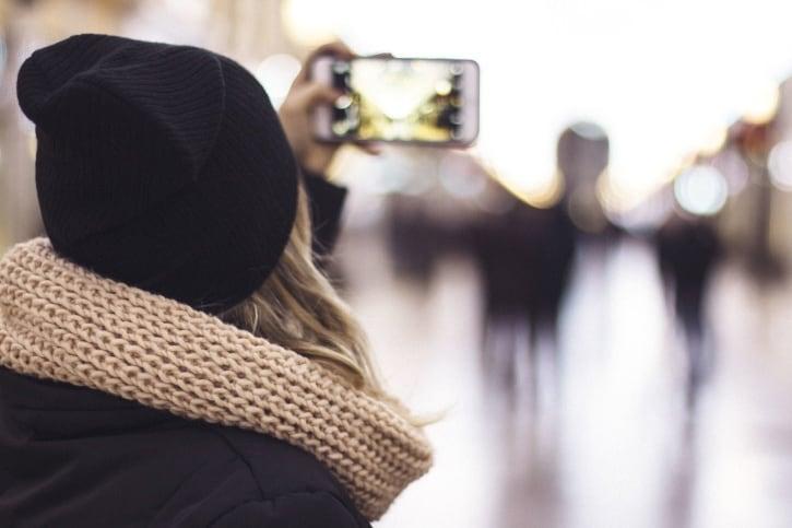Camera smartphone video