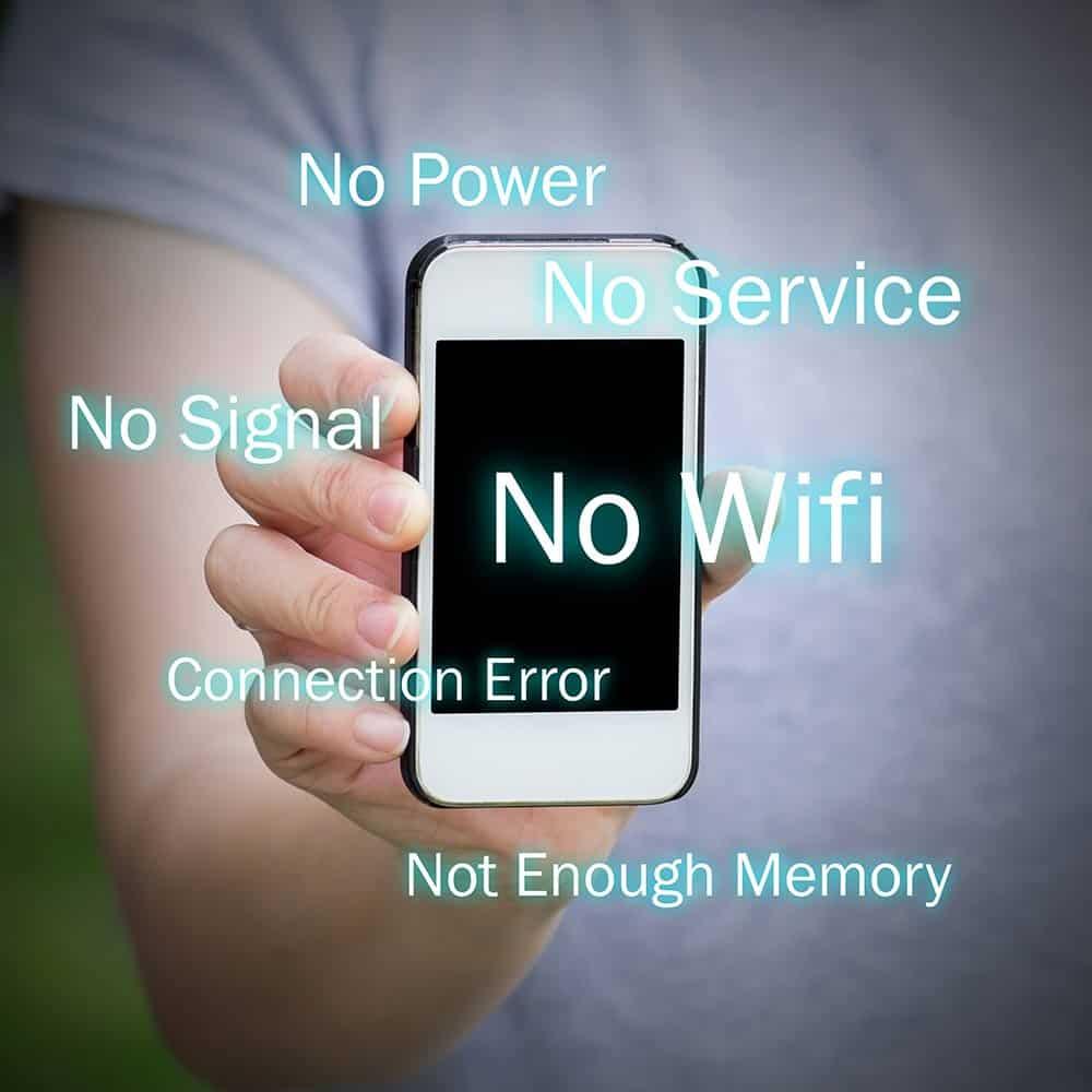 Smartphone geen geheugen