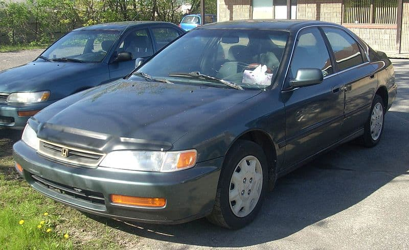 Honda Accord verkopen reclame